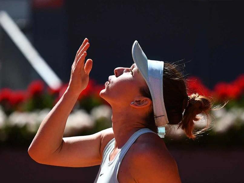 Simona Halep Reaches Madrid Open Final, Novak Djokovic Gets Free Pass