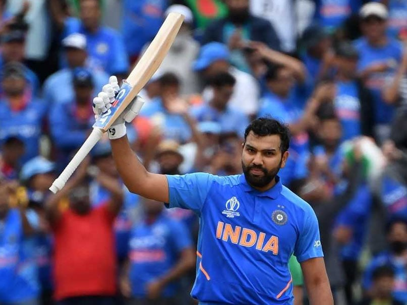 Rohit Sharma Breaks Record For Most Centuries In One World Cup