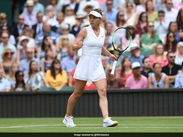 "Wimbledon 2019 Women ""s ="" ""singles ="" ""final ="" ""highlights ="" ""tennis ="" ""score: ="" ""simona ="" ""halep ="" ""demolishes ="" "" serena = """" williams = """" to = """" win = """" her = """" maiden = """" wimbledon = """" title = """" /> </source data-recalc-dims="