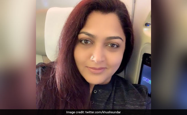'Mentally Retarded': Khushbu Sundar Slams Congress After Joining BJP