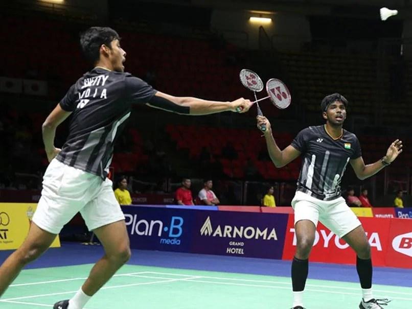 Thailand Open: Satwiksairaj Rankireddy, Chirag Shetty Enter Men
