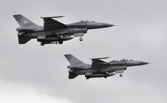 Taiwan To Buy US F-16 Fighters Amid Ongoing Tensions With China: Report