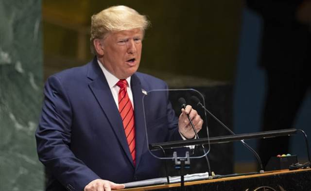 Trump May Be Only World Leader To Address UN General Assembly In Person