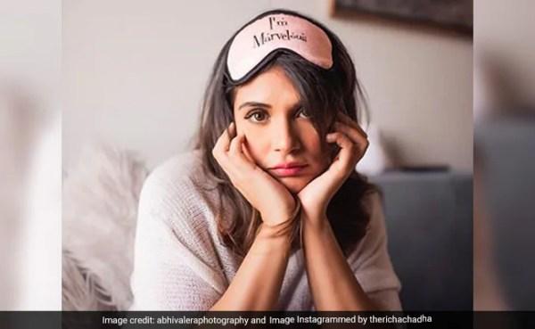 Richa Chadha Asks Why Male Stars Aren
