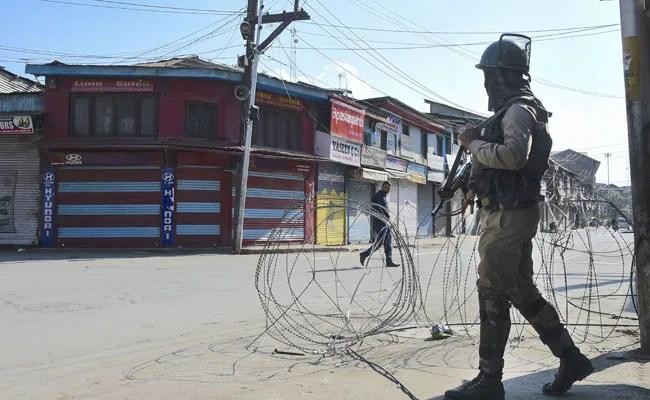 Terrorist Killed In Encounter In Jammu And Kashmir's Srinagar: Police