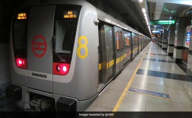 Man Flashes Woman In Delhi Metro Near Ghitorni Station, Case Filed