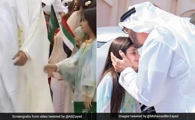 Abu Dhabi Crown Prince Visits Girl Who Couldn?t Shake His Hand During Event
