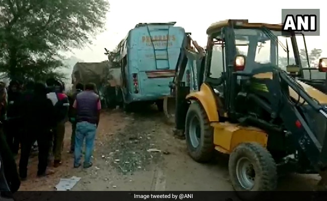 Rewa Accident: 9 Dead, 10 Injured As Bus Crashes Into Stationary Truck In Madhya Pradesh