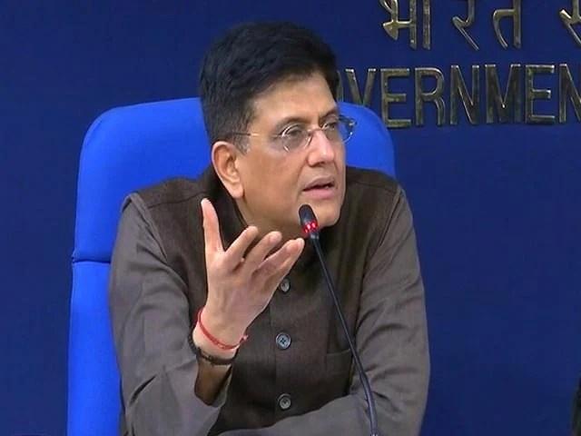भारत, अमेरिका व्यापार समझौते पर बंद, वाणिज्य मंत्री पीयूष गोयल कहते हैं