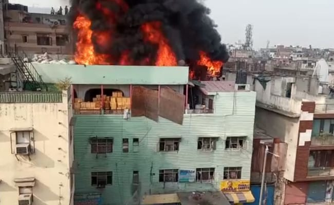 'Delhi Seeks Answers': Union Minister After Factory Fire Kills 43