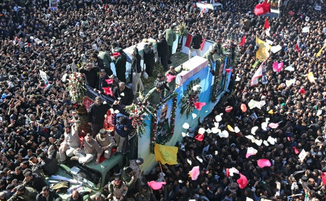 Stampede At Funeral Of Iran General Killed By US, Many Dead: State Media
