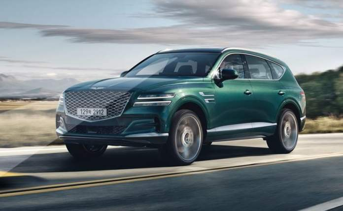 The line-up for Europe includes - Genesis G80 sedan, GV80 SUV, the new G70 sedan and GV70 SUV