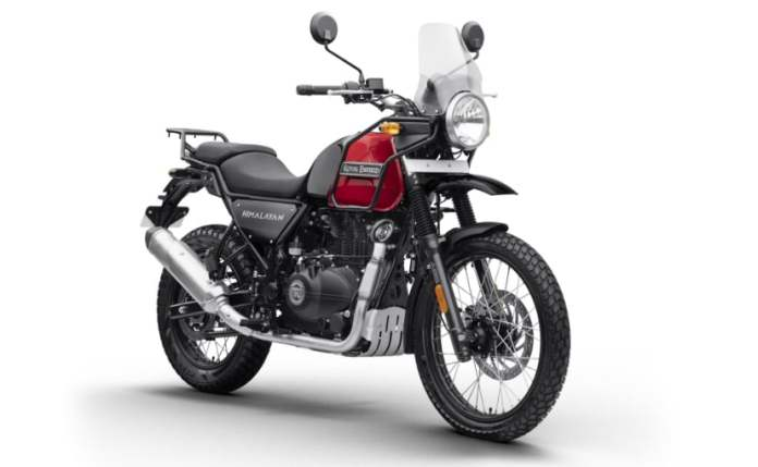 Royal Enfield dominates the 250 cc and above segment of bikes with a 95% market share.