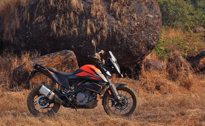 The KTM 390 Adventure is priced at Rs. 3.16 lakh (Ex-showroom)