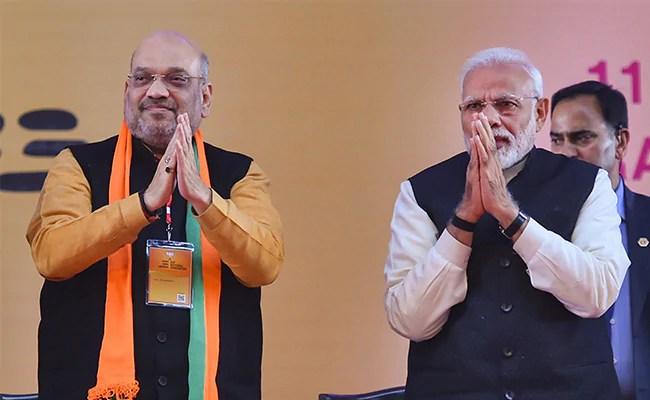 संभाव्य मंत्रिमंडळ विस्ताराबाबत पंतप्रधानपदाचे अध्यक्ष अमित शहा आणि पंतप्रधान मोदी यांची पंतप्रधान भेट घेतली