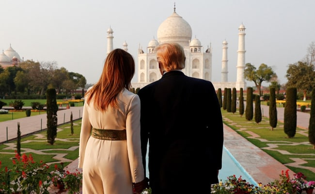 The Gift President Trump Received After Taj Mahal Visit With Melania