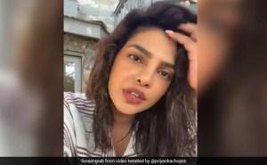 """""""It Just Feels Crazy,"""" Says Priyanka Chopra After 8 Days Of Quarantine"""