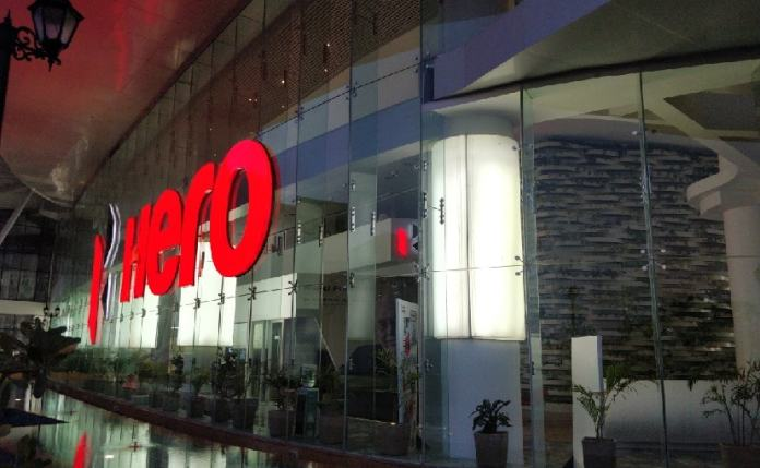 Hero MotoCorp sold 3,39,329 units of motorcycles and 32,956 units of scooters.