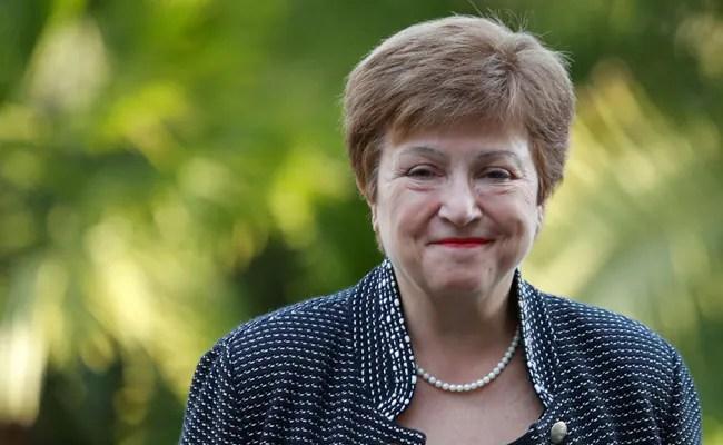 IMF Reaffirms 'Full Confidence' In Head Kristalina Georgieva