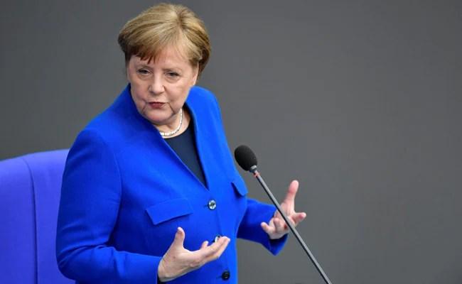Angela Merkel Receives AstraZeneca Covid Vaccine