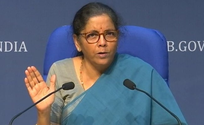 Government To Release List Of Strategic Sectors Soon: Nirmala Sitharaman