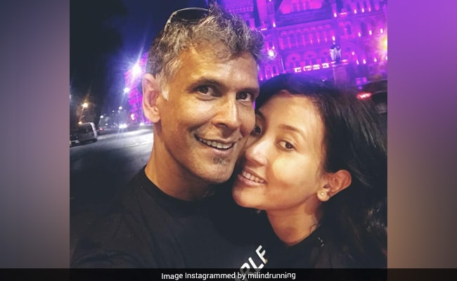 'Friday Face': Milind Soman's pics with Ankita Konwar are all about love