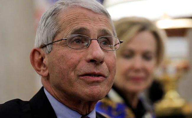 """Let's Stop This Nonsense"", Fight Coronavirus: US Top Health Expert"