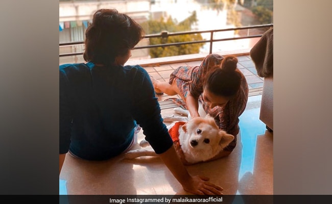 A Glimpse Of Malaika Arora And Son Arhaan Khan's 'Universe'