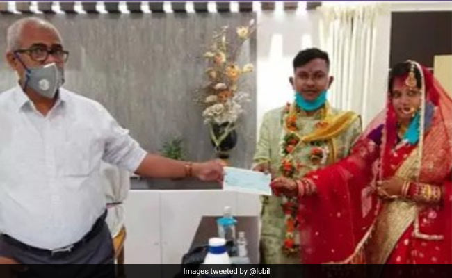 Odisha Couple Marries In Small Ceremenony, Donates Money To COVID Fund