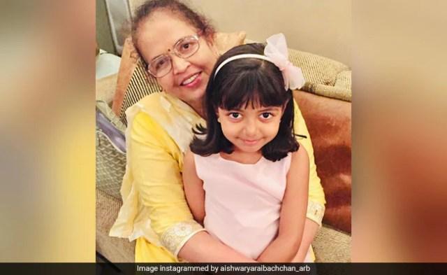 दादी ब्रिंदा राय के साथ आराध्या बच्चन की यह तस्वीर कितनी प्यारी है?