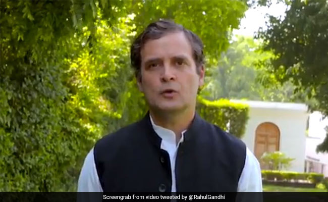 'Everyone Knows': Rahul Gandhi's Dig At Amit Shah Over Defence Policy