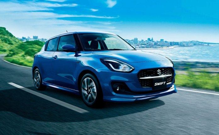 2020 Suzuki Swift facelift for Japan also get dual-tone colour options