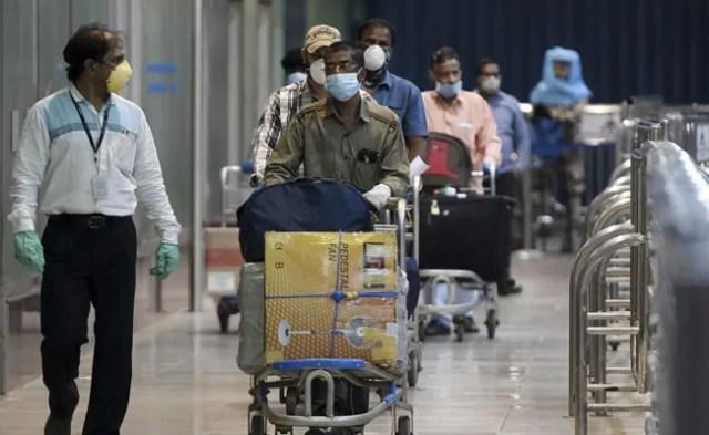 उत्तर प्रदेश में आने वाली उड़ान के लिए 14-दिवसीय होम संगरोध, कुछ छूट गया