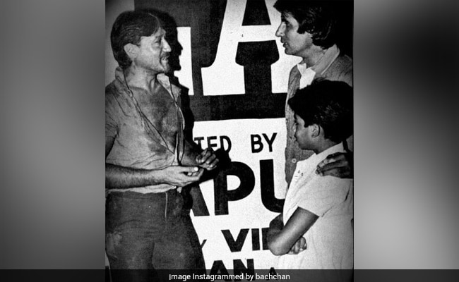 A Flashback Memory Featuring The Two Actors Who Still Inspire Abhishek Bachchan