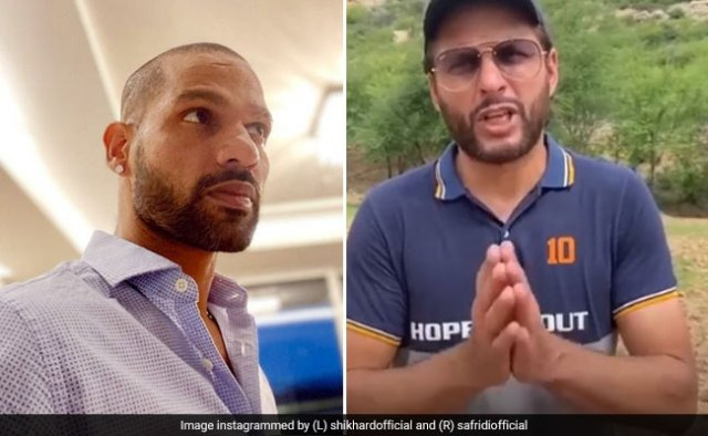 Shikhar Dhawan Angry Reaction On Shahid Afridi For Controversial ...