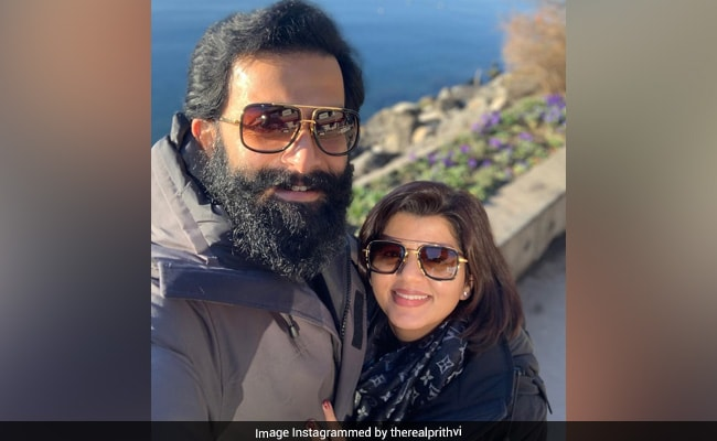 Prithviraj's Wife Supriya Misses This More Than Vacations With Him: 'One More Week To Go'
