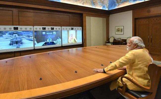 """Must Stand The Test Of Time"": PM Modi Reviews Kedarnath Development Work"