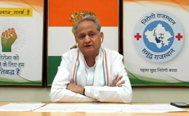 Rajasthan's Income Assortment Dropped By 70% Due To COVID-19: Ashok Gehlot