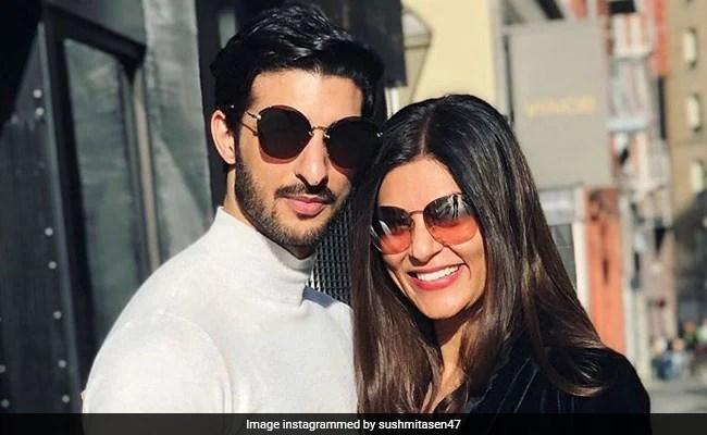 Sushmita Sen's Anniversary Post For Boyfriend Rohman Shawl Is All About 'Rohmance'