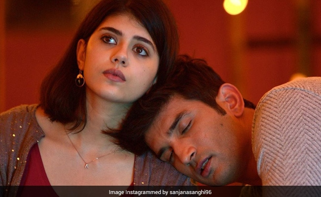 Dil Bechara: Sanjana Sanghi Posts Favourite Memory - When Sushant Singh Rajput Fell Asleep On Her Shoulder