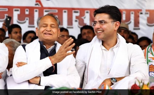 Rajasthan Bypolls: Ashok Gehlot, Sachin Pilot Among Star Campaigners For Congress