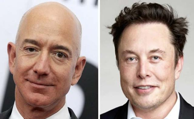 Jeff Bezos And Elon Musk Just Became 'Obscenely Rich'. Details Here