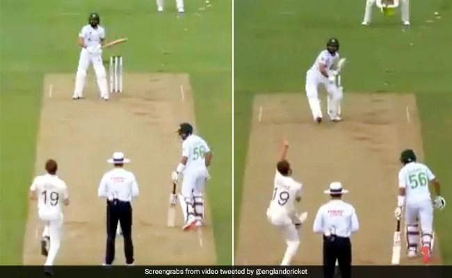 Eng Vs Pak: क्रिस वोक्स की गेंद पर पाक बल्लेबाज ने की अजीबोगरीब हरकत, ऐसे हुआ आउट - देखें Video