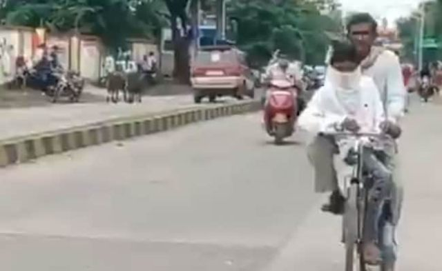 Madhya Pradesh Man, 38, Cycles 105 km For Son's Exam