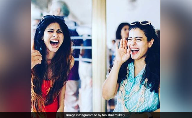 Here's How Kajol's Birthday Was Made Memorable By Sister Tanishaa