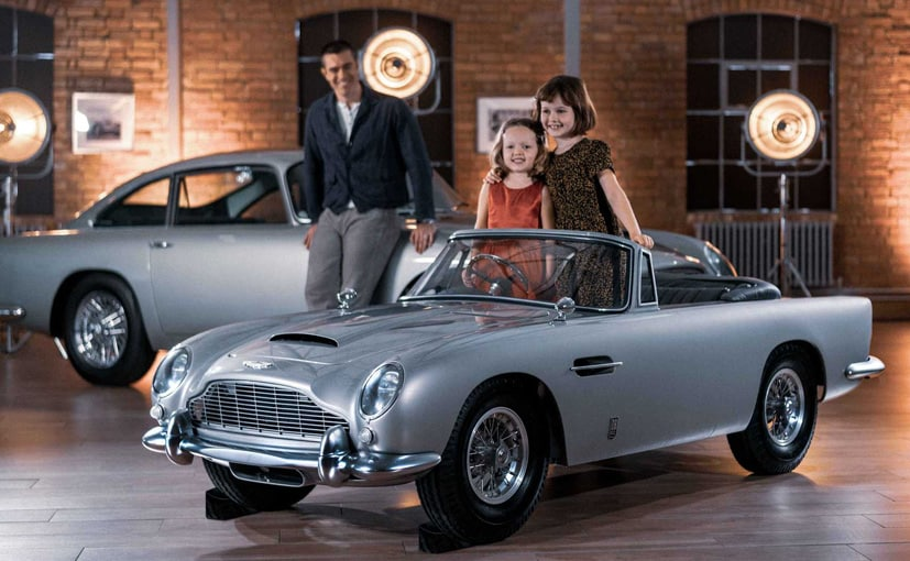 The new DB5 Junior is based on the company's reference 3D scan of an original Aston Martin DB5