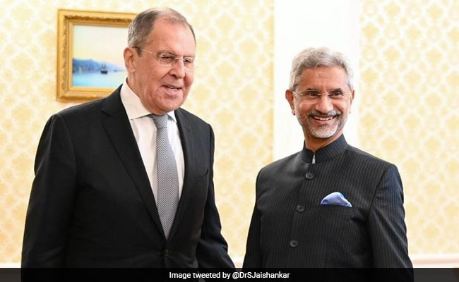 Russian Foreign Minister Sergey Lavrov To Begin 2-Day India Visit Today