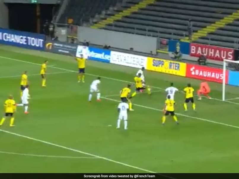 French Team Hails Kylian Mbappe S Fine Goal In Uefa Nations League Win Over Sweden Watch Football News