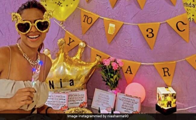 Pics From Nia Sharma's Birthday Bash Are Everything Nice
