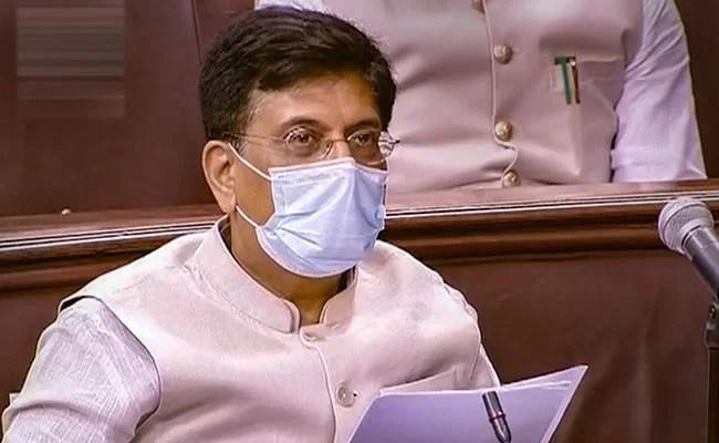 Minister Piyush Goyal To Be Leader Of House In Rajya Sabha
